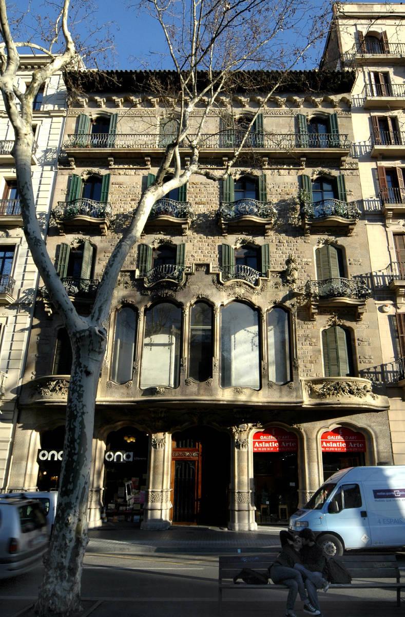 117. Edificio de viviendas, Gran Vía, 654 - Barcelona « Enric ...